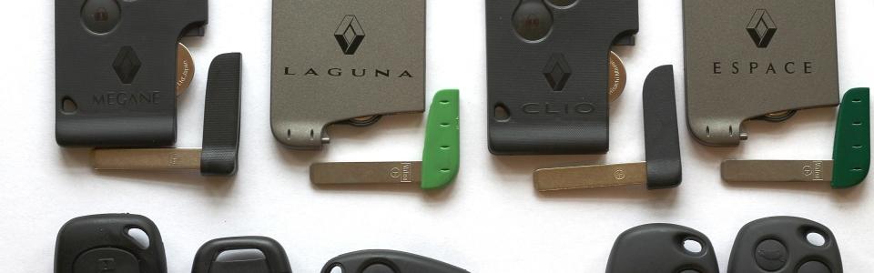 replacement renault keycard newark