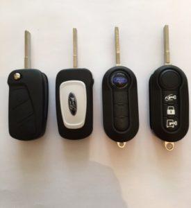 ford ka flip key
