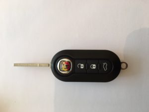abarth remote keys