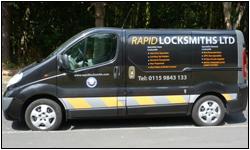 replacement van key nottingham