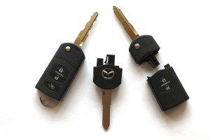mazda car keys grantham