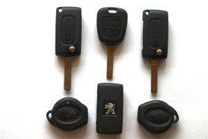 peugeot car keys grantham