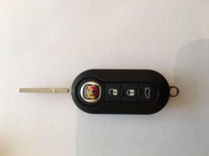 abarth remote keys