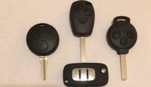 smart car remote keys
