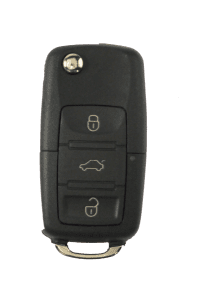 traditional vw style 3 button key