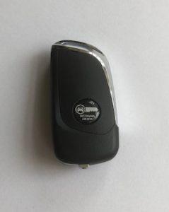 peugeot flip remote key