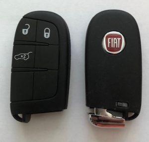 fiat 500x key